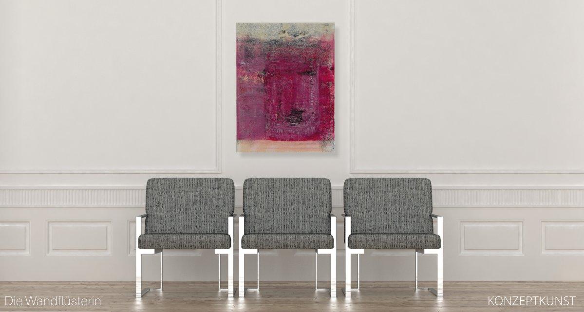 Ihr Unikat | Die Wandfluesterin - Konzeptkunst