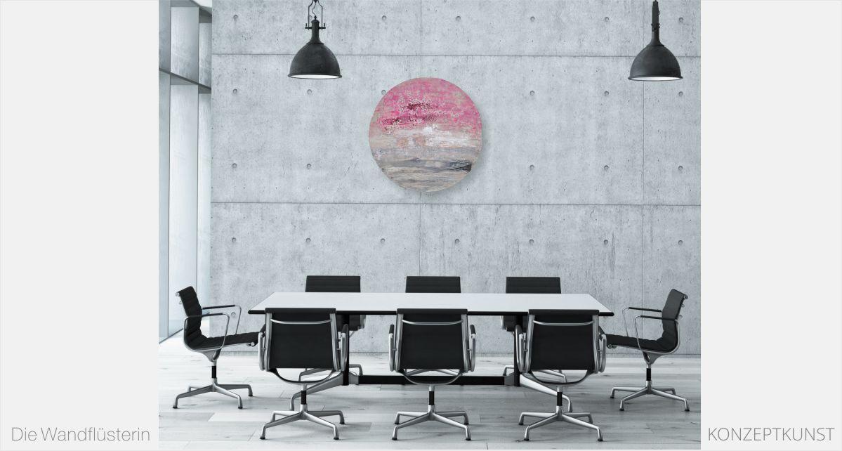 Runde Sache: Konzeptkunst von der Wandflüsterin