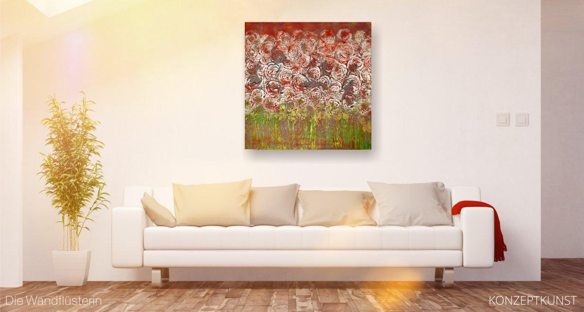 Die Wandfluesterin - Auftragsmalerei